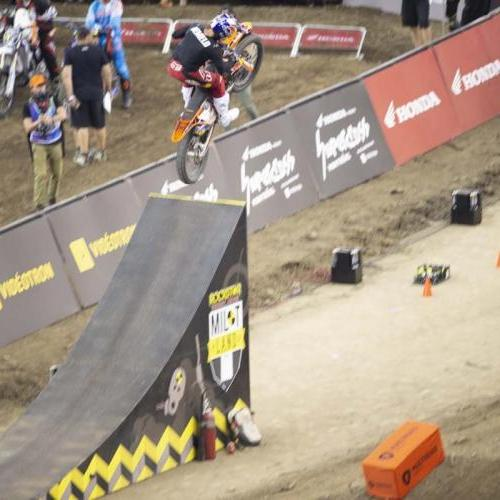 Free style at the Montreal Supercross
